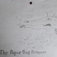 The Paper Bag Princess by Alex Banman