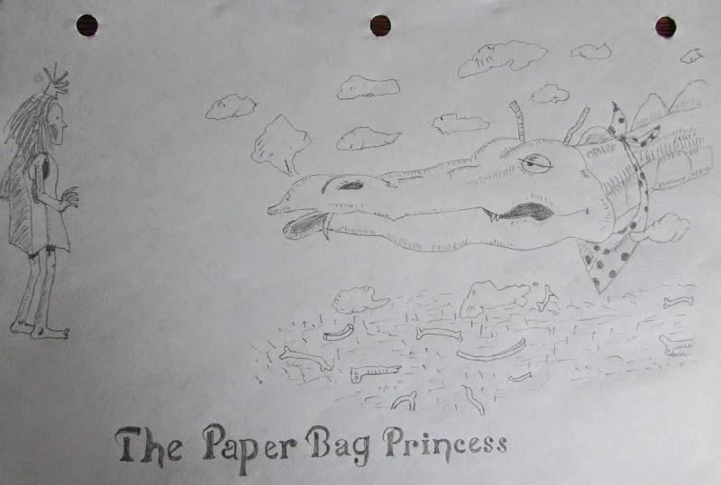 The Paper Bag Princess by Alex Banman
