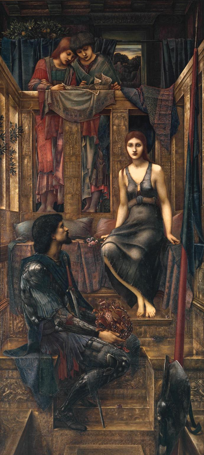 King Cophetua and the Beggar Maid - Study by Edward Burne-Jones