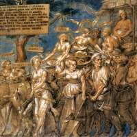 Triumph of Poverty by Lucas Vorsterman