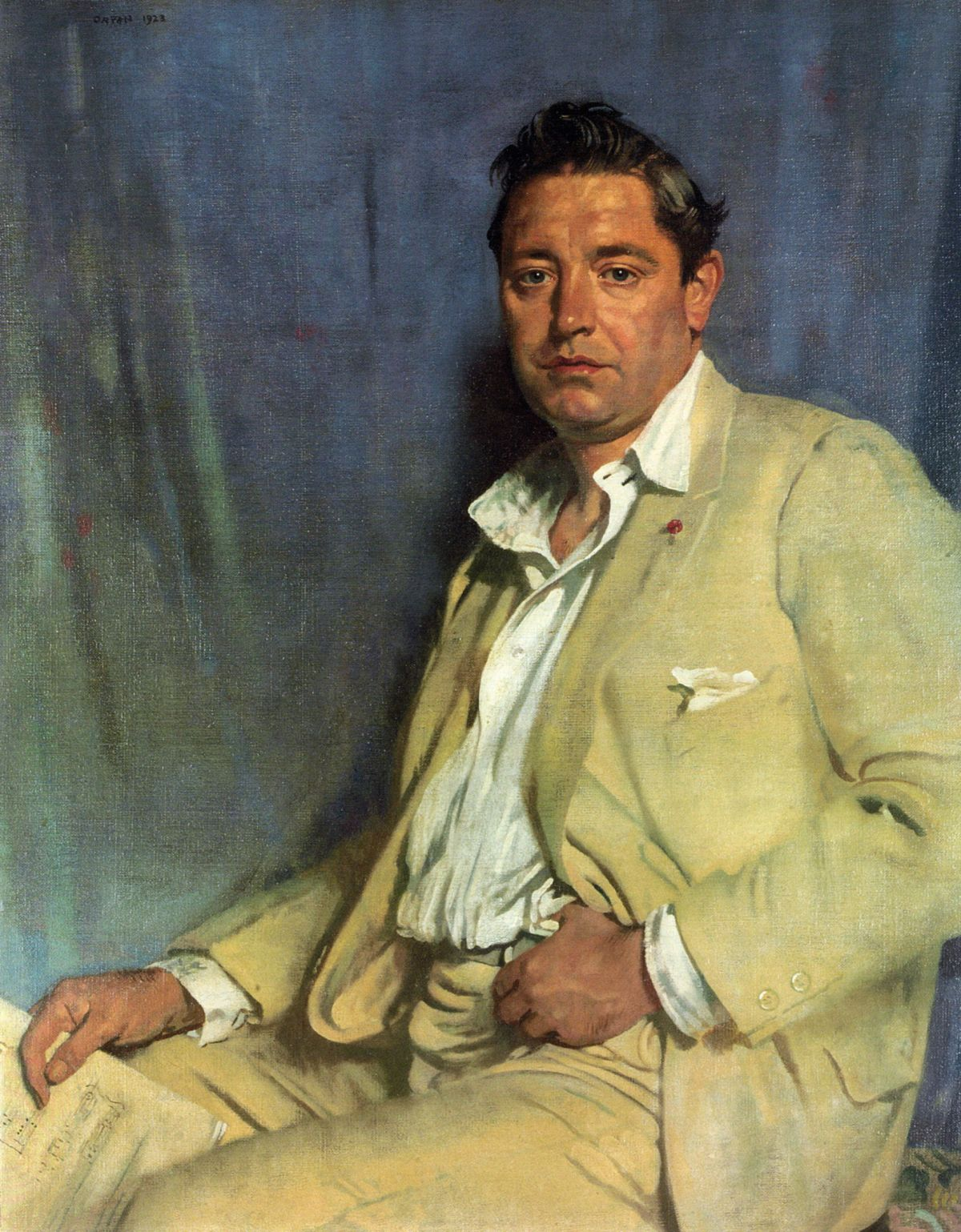 Count John McCormack by Sir William Newenham Montague Orpen