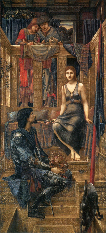 King Cophetua and the Beggar Maid by Edward Burne Jones