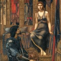 King Cophetua and the Beggar Maid by Edward Burne Jones