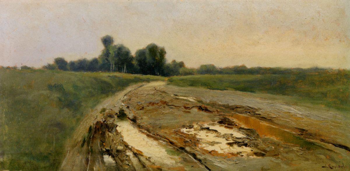 Landscape by Santiago Rusinol
