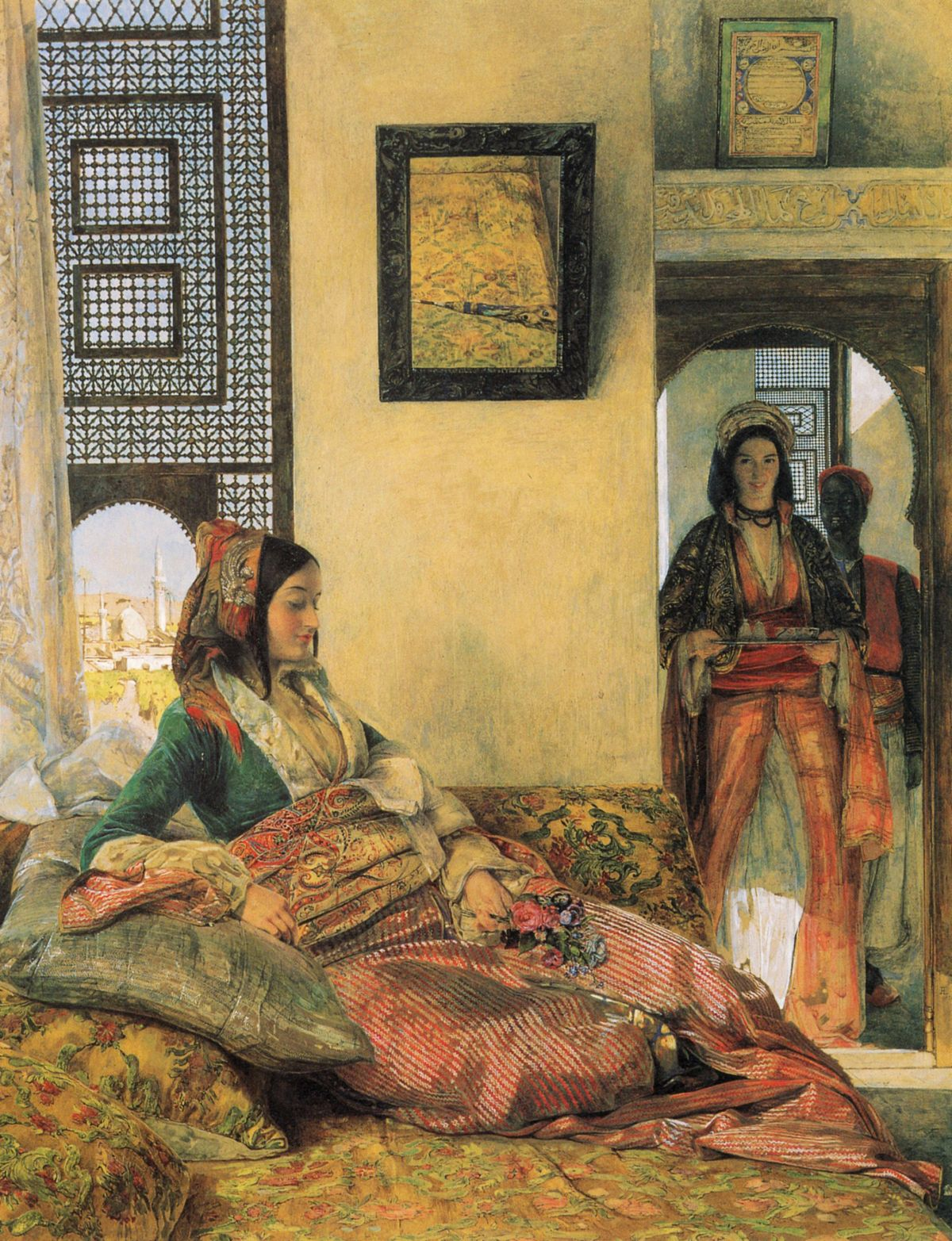 Life in the Hareem Cairo by John Frederick Lewis