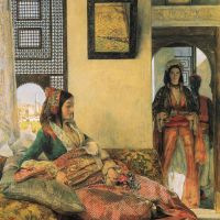 Life in the Hareem, Cairo by John Frederick Lewis