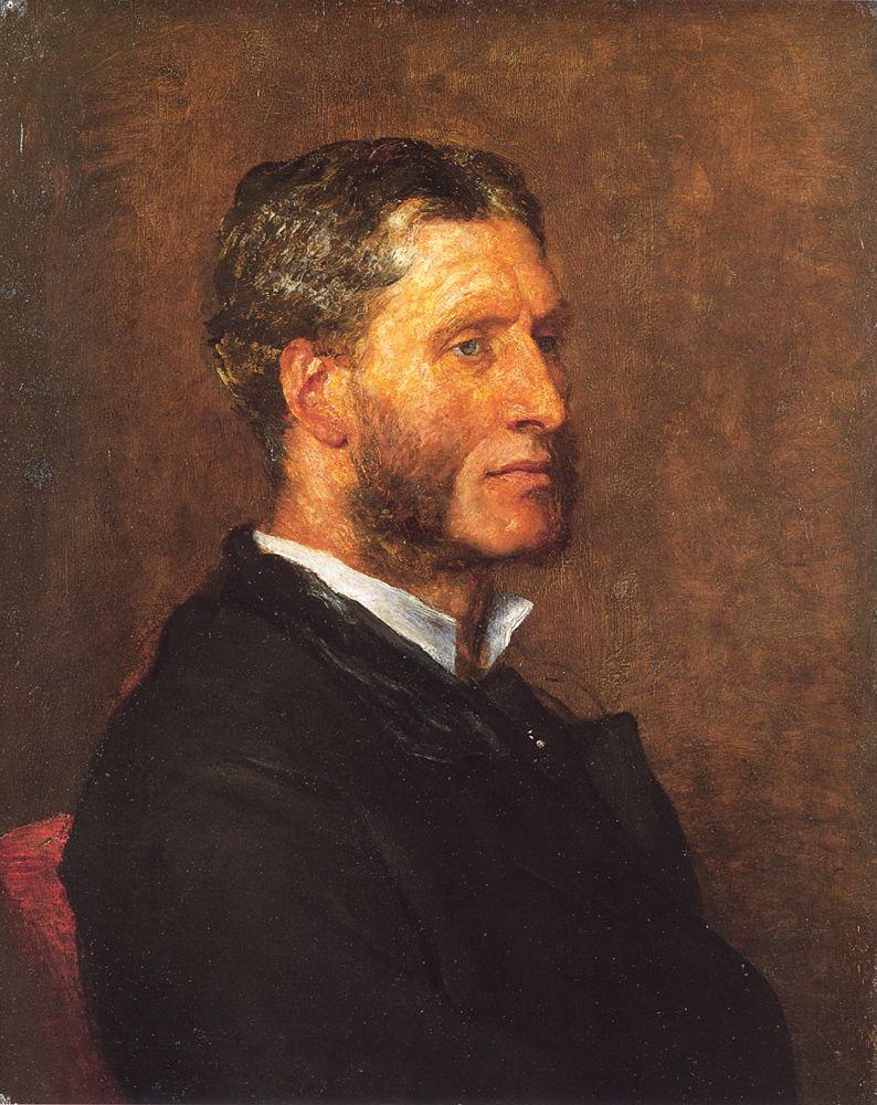 Matthew Arnold by George Frederick Watts
