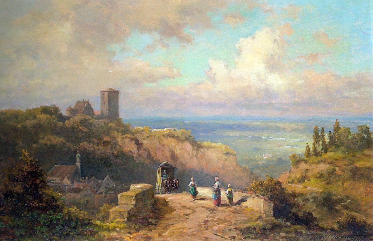 An Der Landstrasse by Willy Moralt