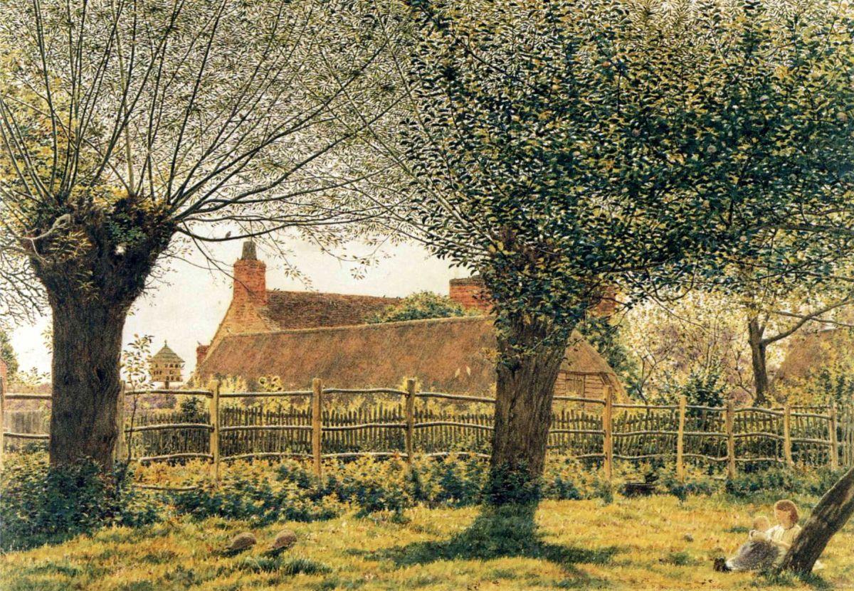 At Binsey, Near Oxford by George Price Boyce