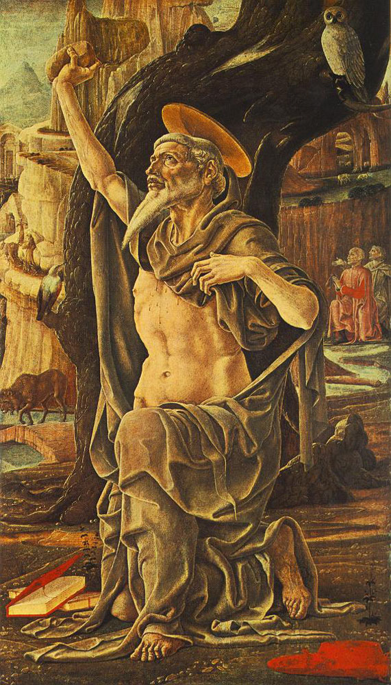 Saint Jerome by Cosme Tura