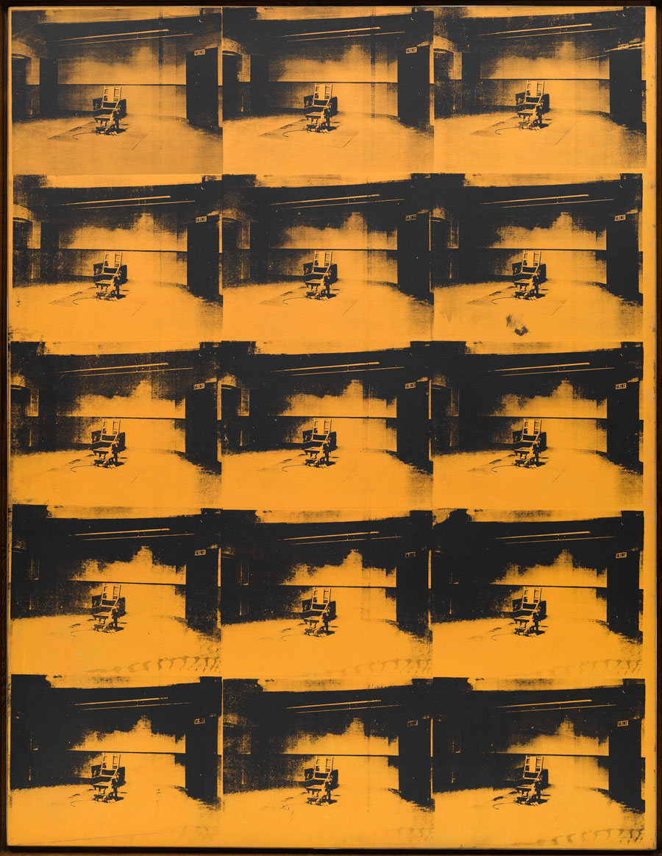 Orange Disaster by Andy Warhol