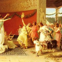 A Roman Dance by Guglielmo Zoochi