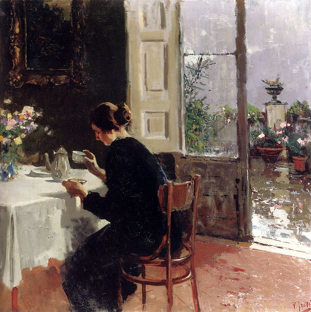 At The Window by Vincenzo Irolli