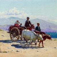 Caucasian Travellers by Richard Karlovich Zommer