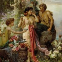 Love Offering by Hans Zatzka