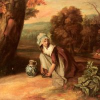 A Country Maid by Henry Walton