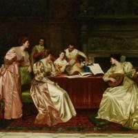A Musical Evening by Guglielmo Zoochi