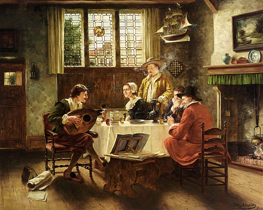 A Musical Interlude by Fritz Wagner