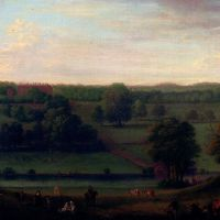 A View Of Cassiobury Park by John Wootton