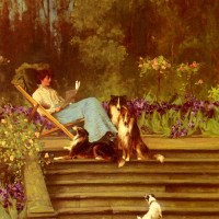 Among Friends by Arthur Wardle