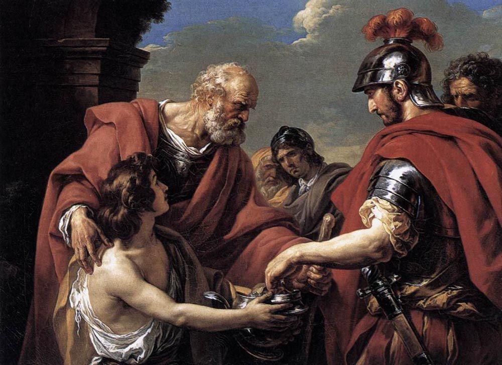 Belisarius by Francois Andre Vincent