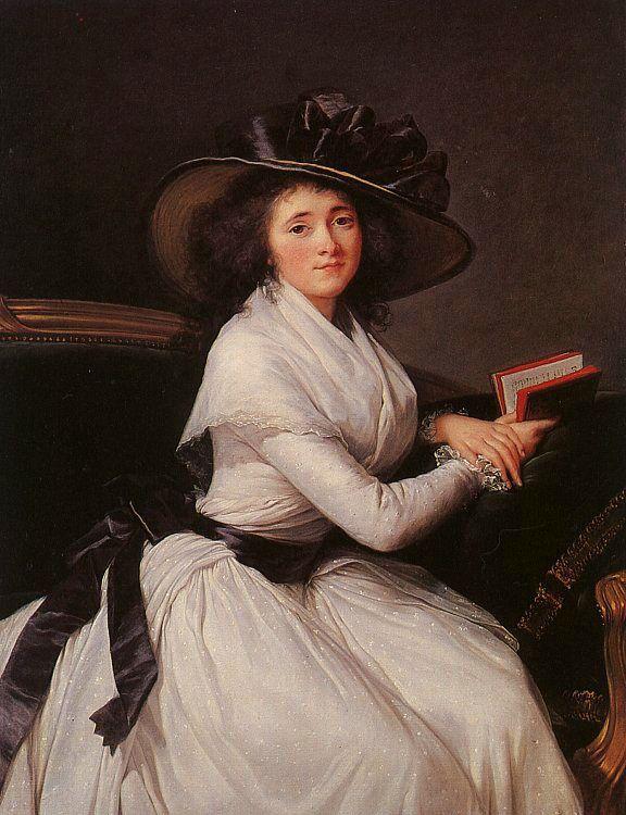 Comtesse de la Chatre by Elisabeth Louise Vigee Le Brun