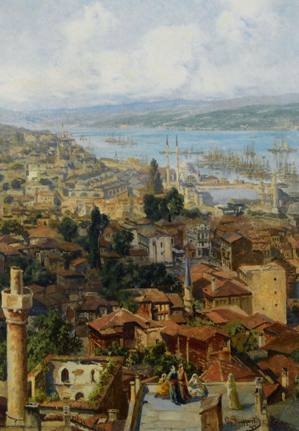 Constantinople by Otto Von Rupert