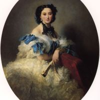 Countess Varvara Alekseyevna Musina­ Pushkina by Franz Xavier Winterhalter