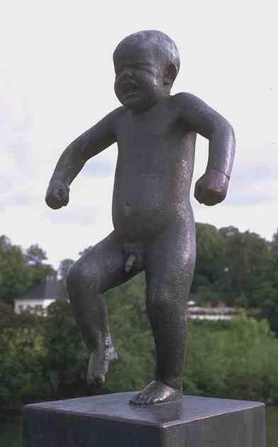 Crying Child by Gustav Vigeland