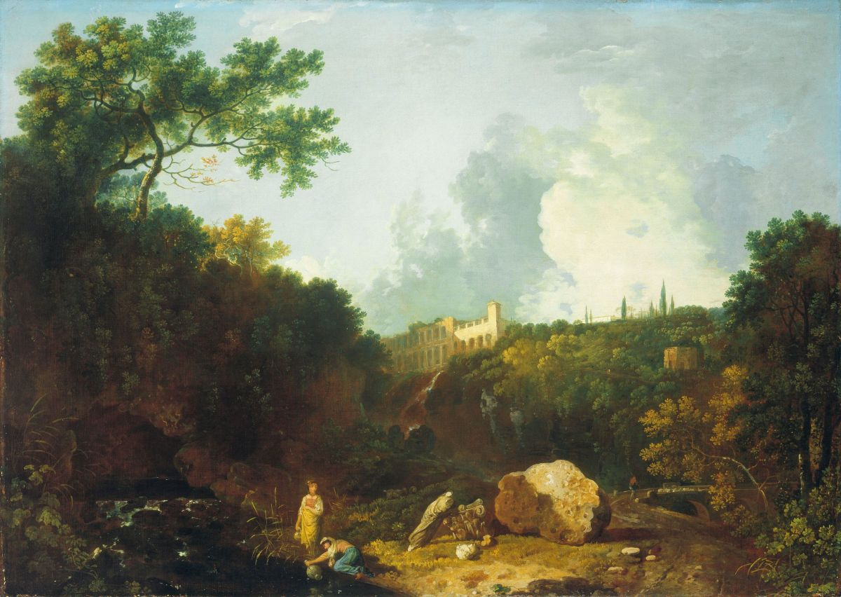 Distant View of Maecenas Villa Tivoli by Richard Wilson