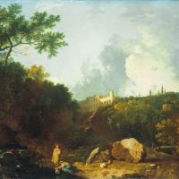 Distant View of Maecenas' Villa, Tivoli by Richard Wilson