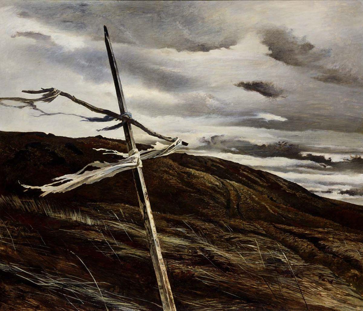 Dodges Ridge by Andrew Wyeth