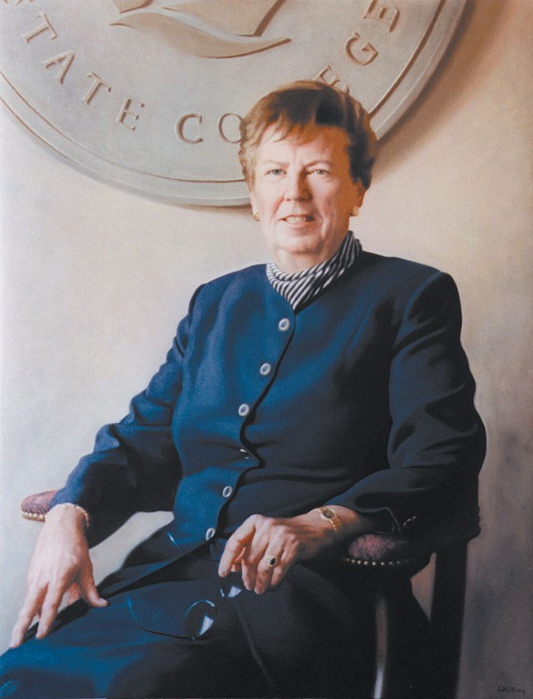 Dr Nancy Harrington by Richard Wheeler Whitney