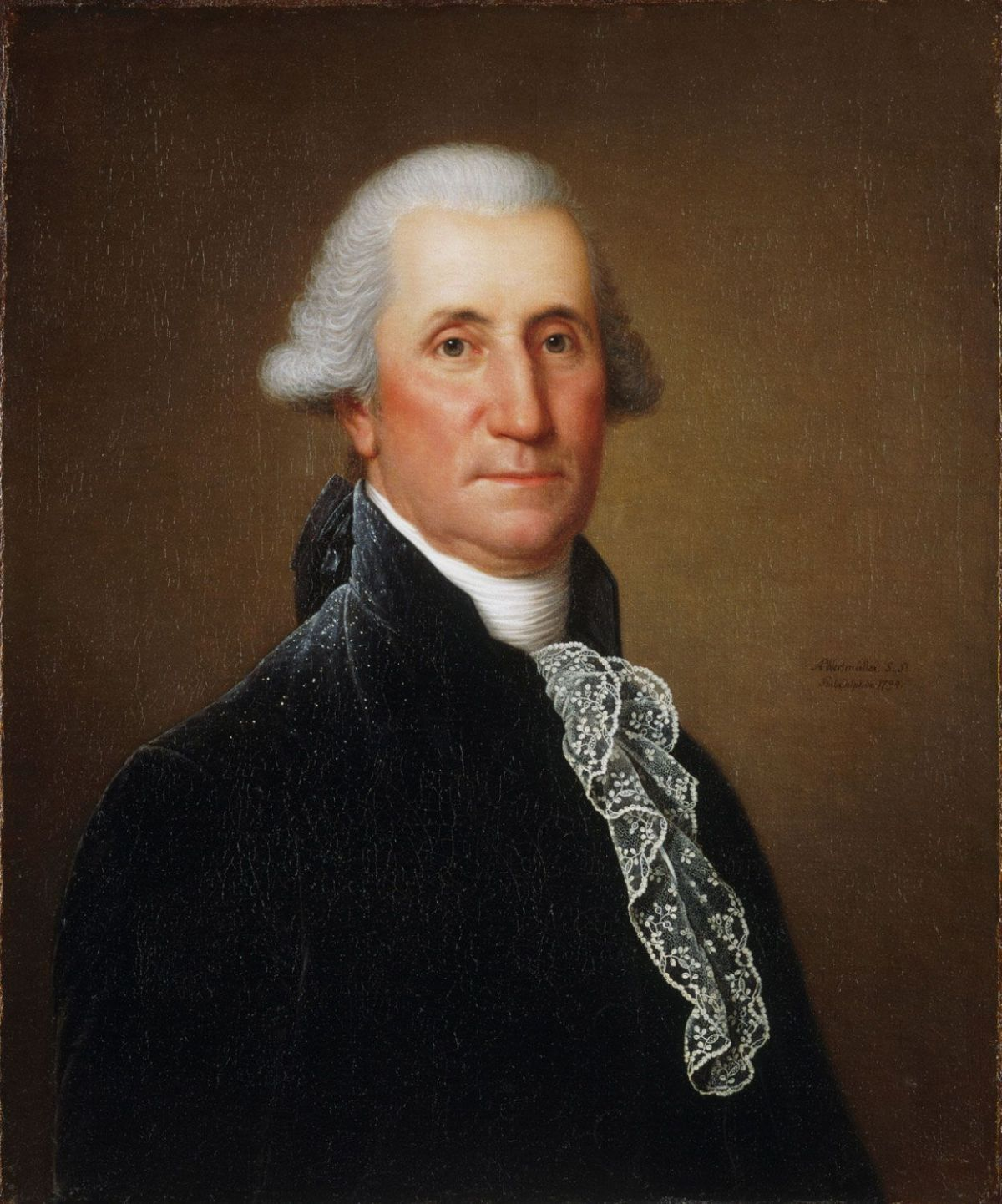 George Washington by Adolph Ulrich Wertmuller