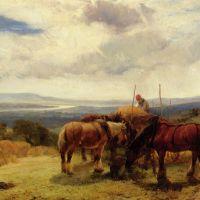 Harvest Horses by Henry Brittan Willis