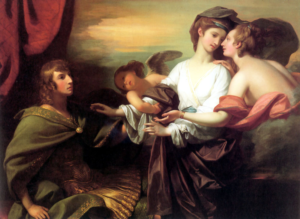 Helen Brought From Paris by Benjamin West