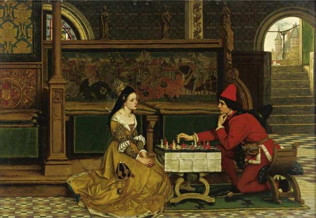 His Move by Albrecht Frans Lieven Vriendt