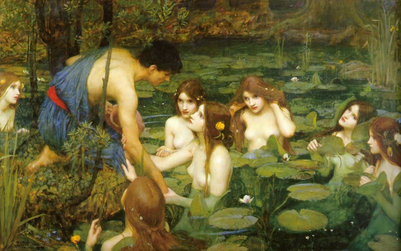 Hylas and the Nymphs by John William Waterhouse