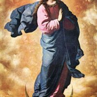 Immaculate Conception by Francisco de Zurbaran
