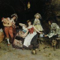 In The Wine Cellar by Francesco Vinea