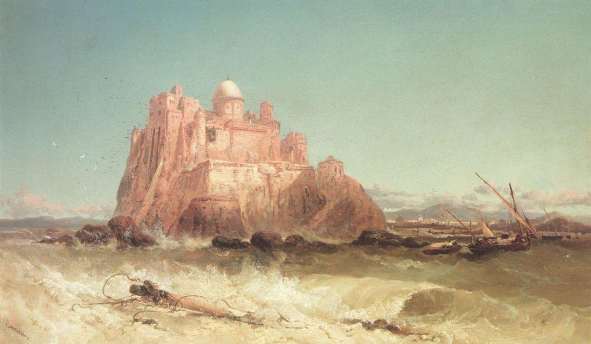In the Mediterrean by James Webb