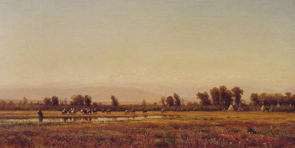 Indian Reservation by Thomas Worthington Whittredge