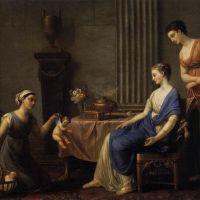 La Marchande d'Amours by Joseph Marie Vien