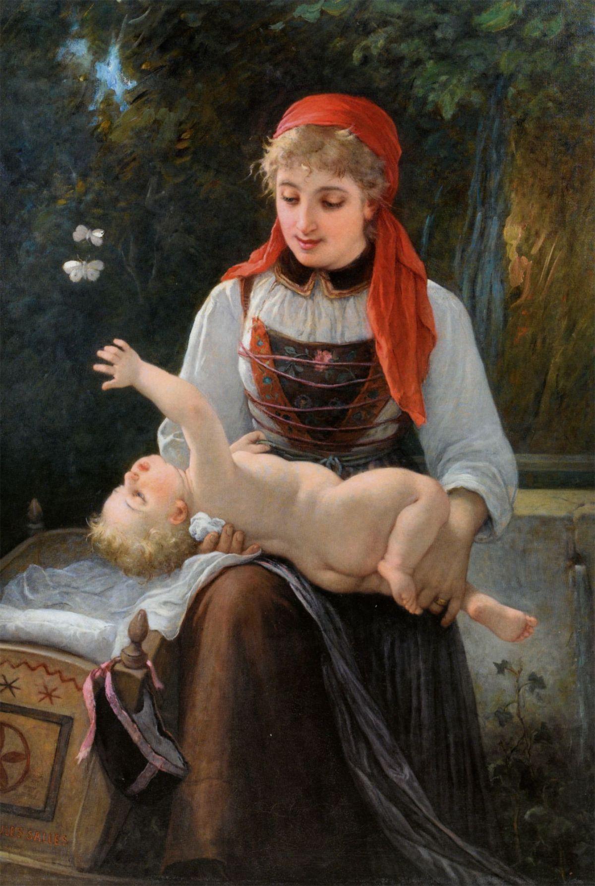La Valaisane by Jules Salles Wagner
