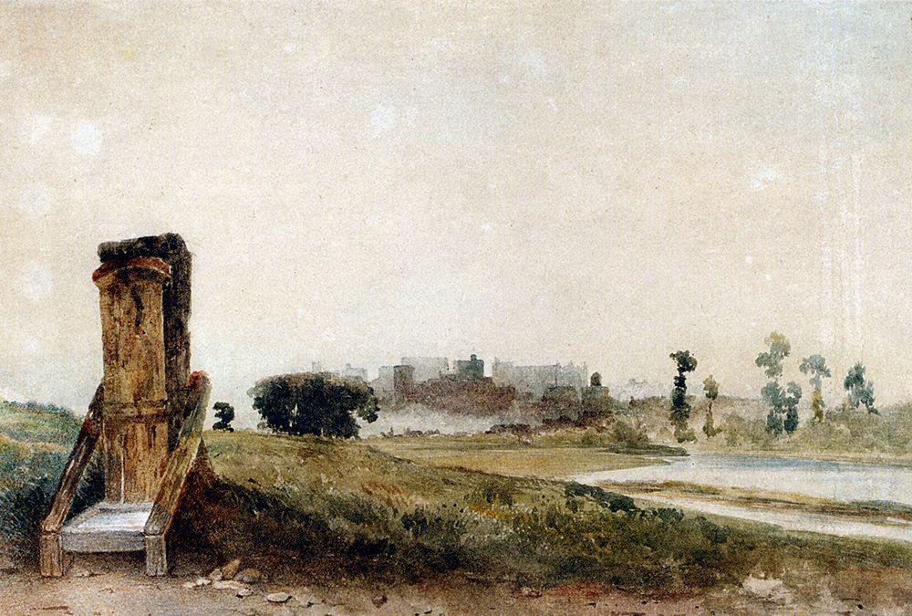 Lower Hope  Windsor  Berkshire by Peter de Wint