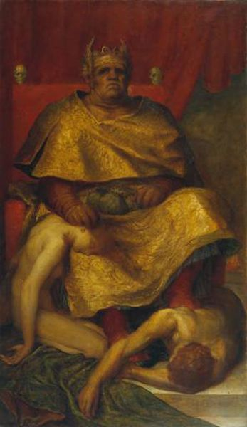 Mammon by George Frederick Watts