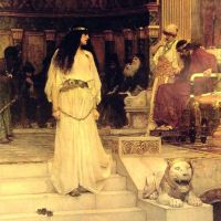 Mariamne Leaving the Judgement Seat of Herod by John William Waterhouse