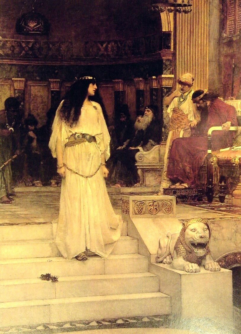 Mariamne Leaving the Judgement Seat of Herod by John William Waterhouse