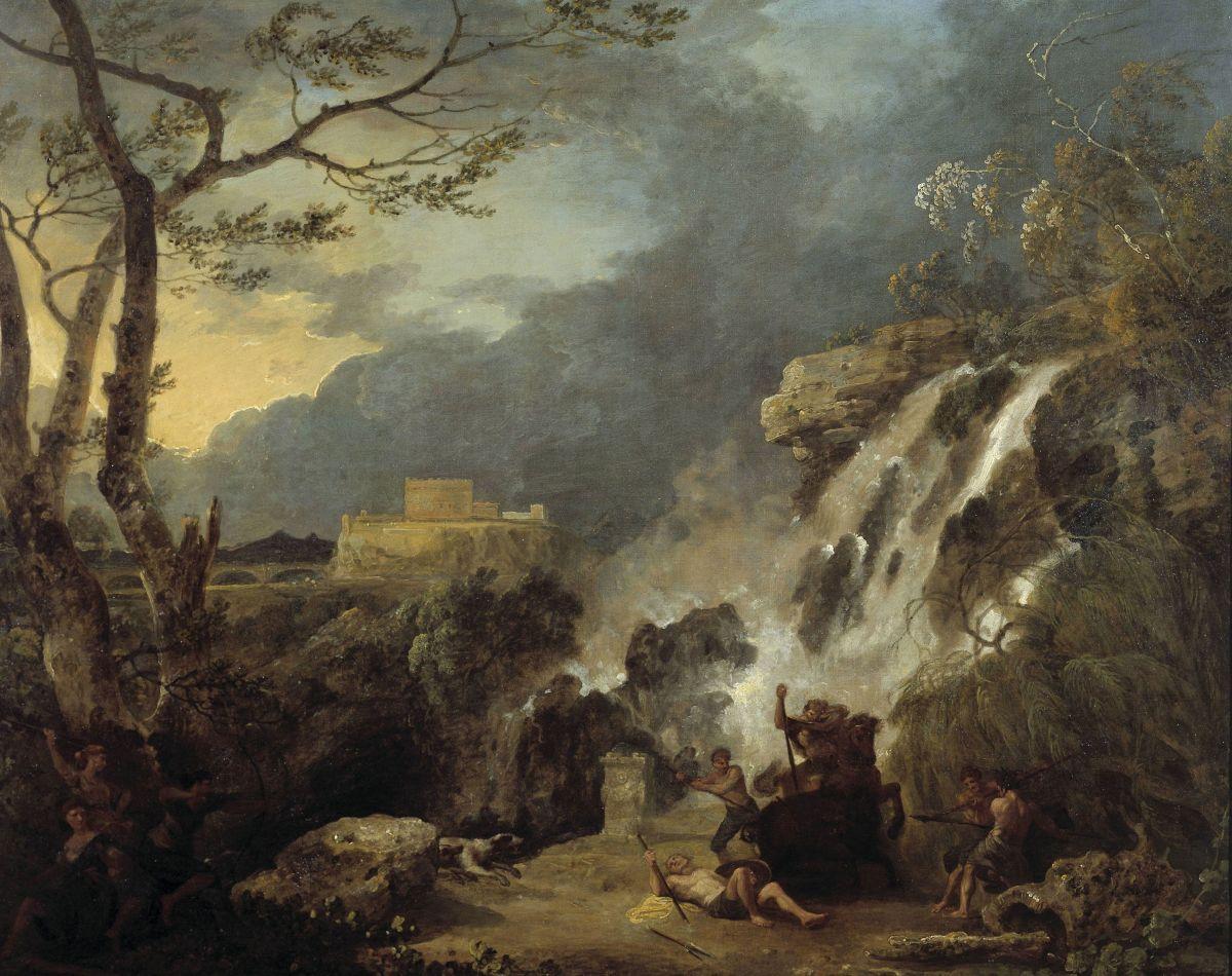 Meleager and Atalanta by Richard Wilson