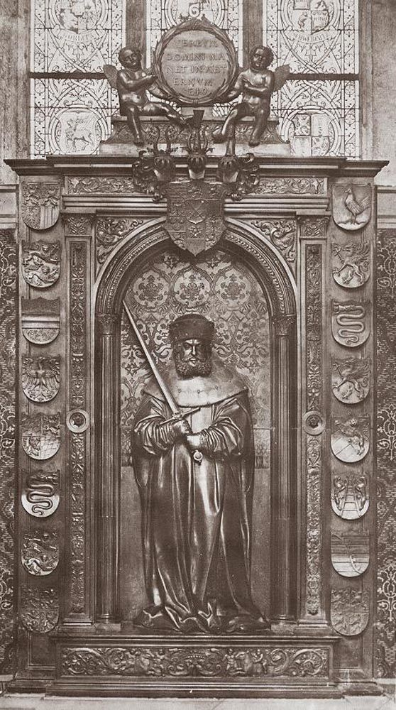 Monument of Frederick the Wise by Peter Vischer the Younger